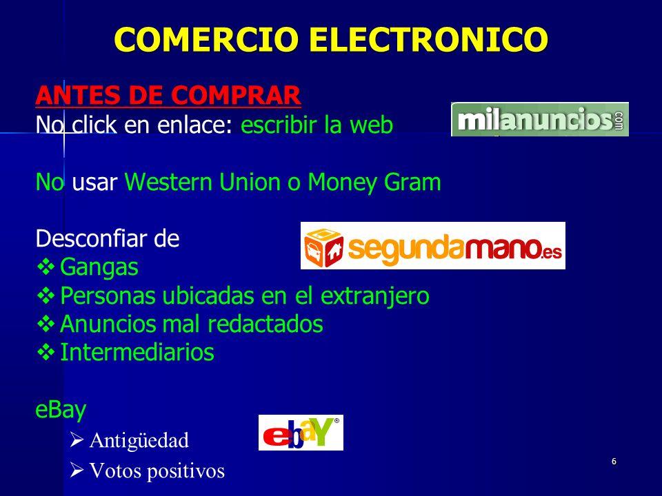 47 PROCESO Afecta a sistemas Windows Bloquea el ordenador En la pantalla de bloqueo aparece el logo de la Policía Dice que el bloqueo es por acceso a webs pedófilas, de intercambio de archivos, etc.