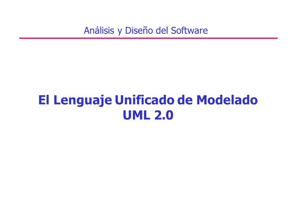 El Lenguaje Unificado de Modelado UML 2.0 Análisis y Diseño del Software
