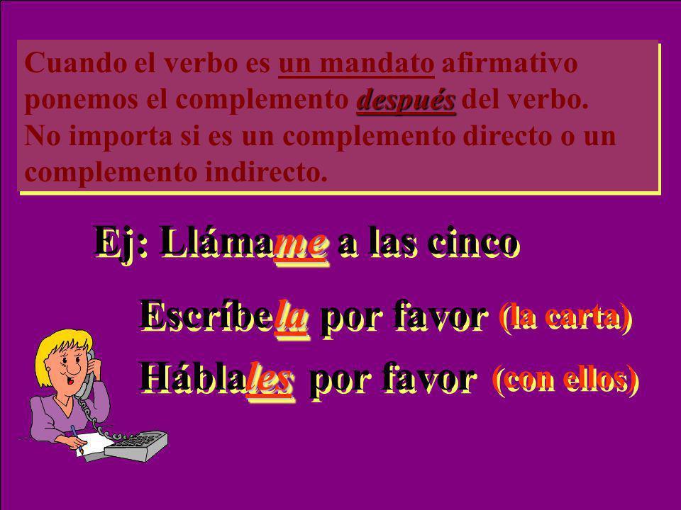 En español evitamos poseer las partes del cuerpo y las cosas personales. Queremos ser discretos. En estos casos, usamos el complemento indirecto para