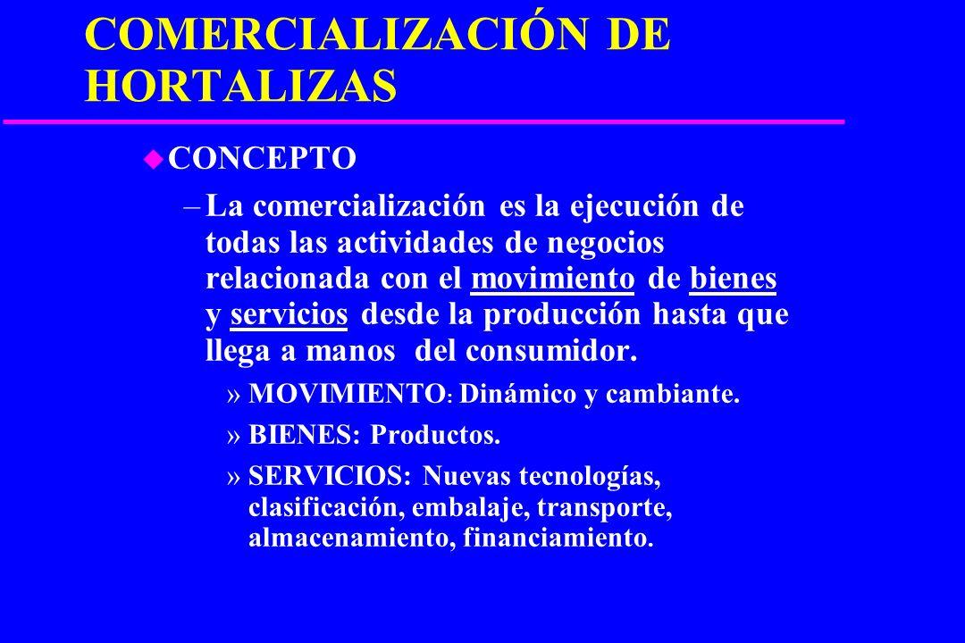 MARKETING EN PRODUCTOS FRUTIHORTÍCOLAS u Ing. Agr. Héctor M. Fontán –P–Prof. Asoc. Cat. De Olericultura F.C.A. U.N.C.