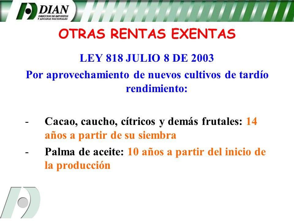 ley 812 2003: