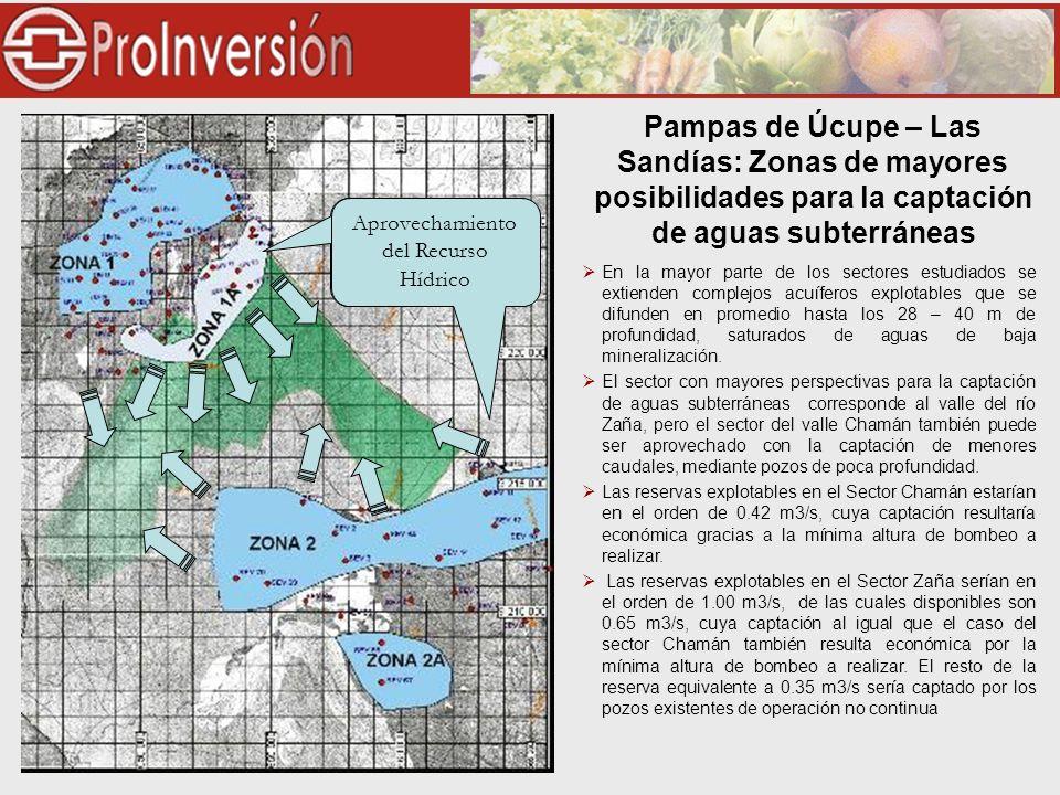 En la mayor parte de los sectores estudiados se extienden complejos acuíferos explotables que se difunden en promedio hasta los 28 – 40 m de profundidad, saturados de aguas de baja mineralización.