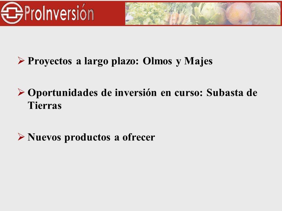 CONCESIÓN DE OBRAS DE TRASVASE Concesionario: Odebrecht -Inversiones $184.7 millones -Construcción y Oper.