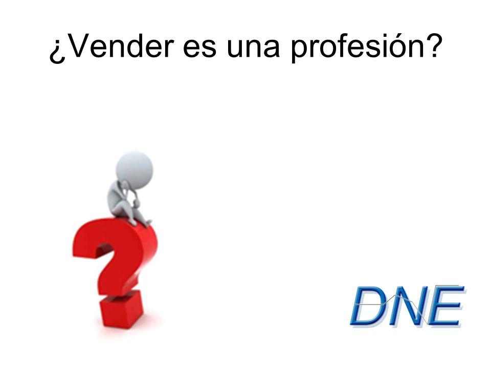 ¿Vender es una profesión