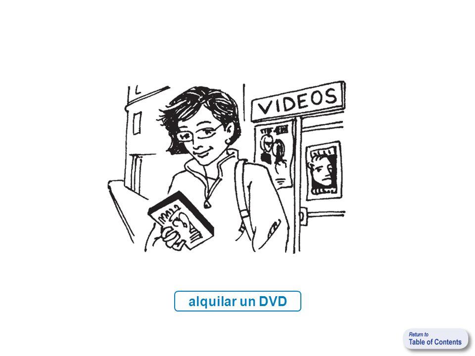 alquilar un DVD