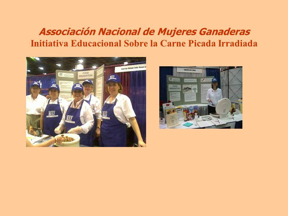 Associación Nacional de Mujeres Ganaderas Initiativa Educacional Sobre la Carne Picada Irradiada