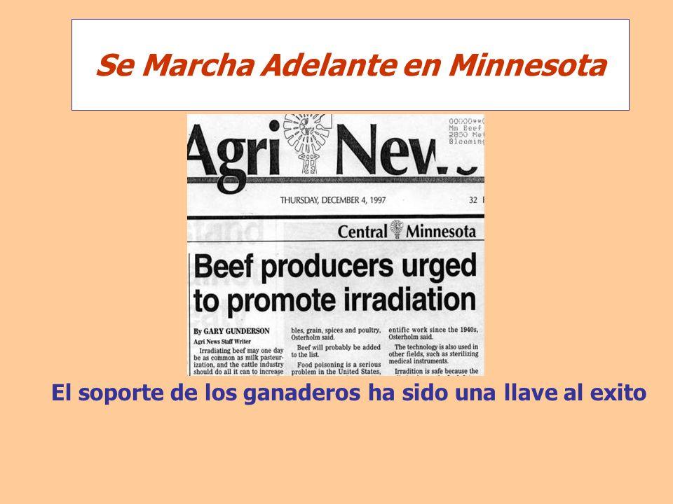 El soporte de los ganaderos ha sido una llave al exito Se Marcha Adelante en Minnesota
