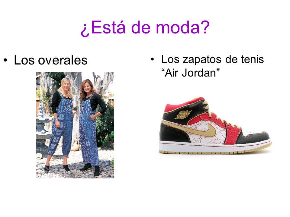 ¿Está de moda? Los zapatos de tenis Air Jordan Los overales