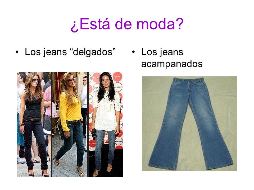 ¿Está de moda? Los jeans delgadosLos jeans acampanados