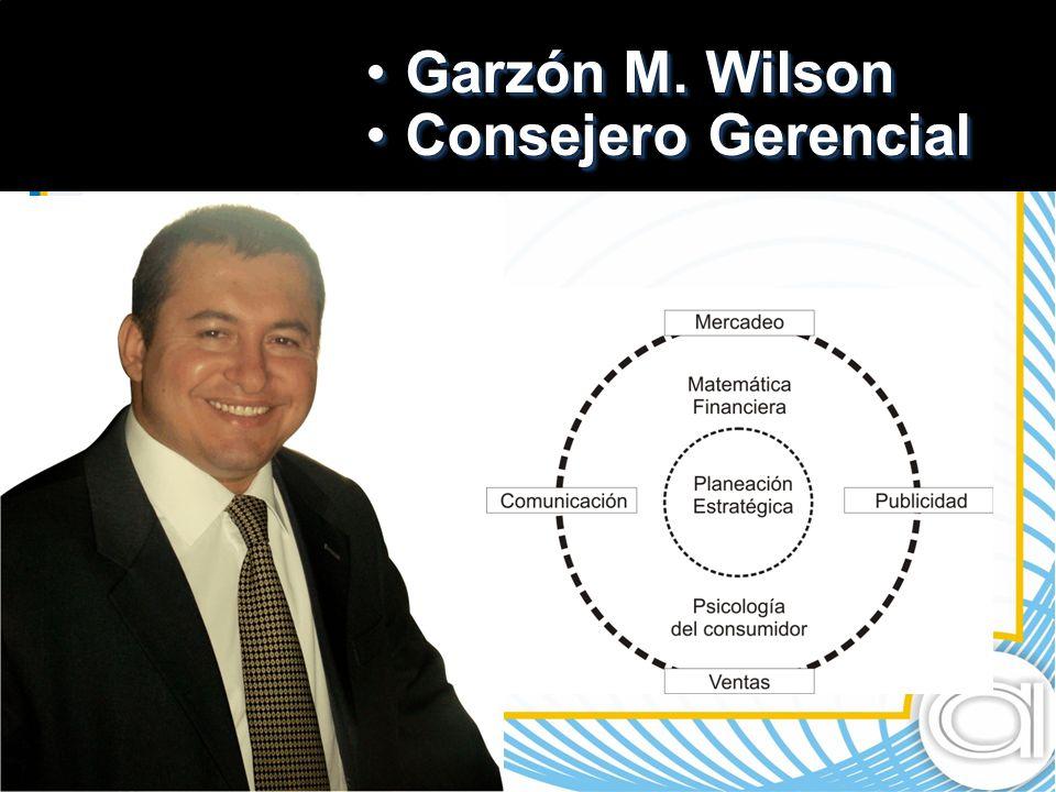 Garzón M.WilsonGarzón M. Wilson Consejero GerencialConsejero Gerencial Garzón M.