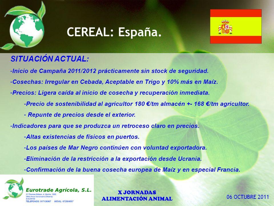 CEREAL: España.