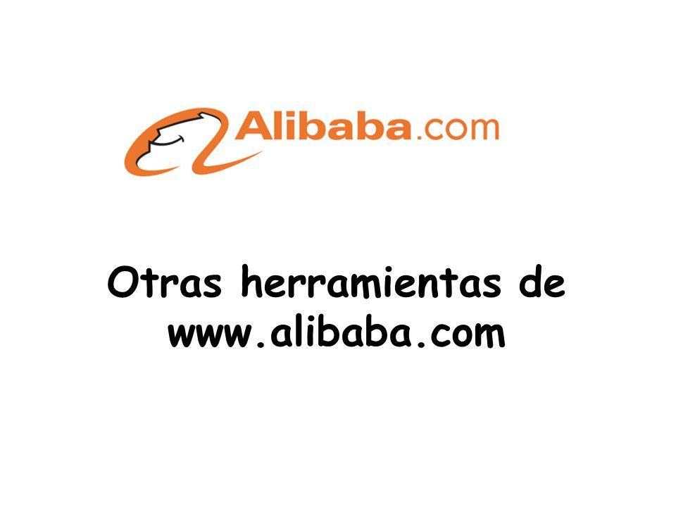 Otras herramientas de www.alibaba.com