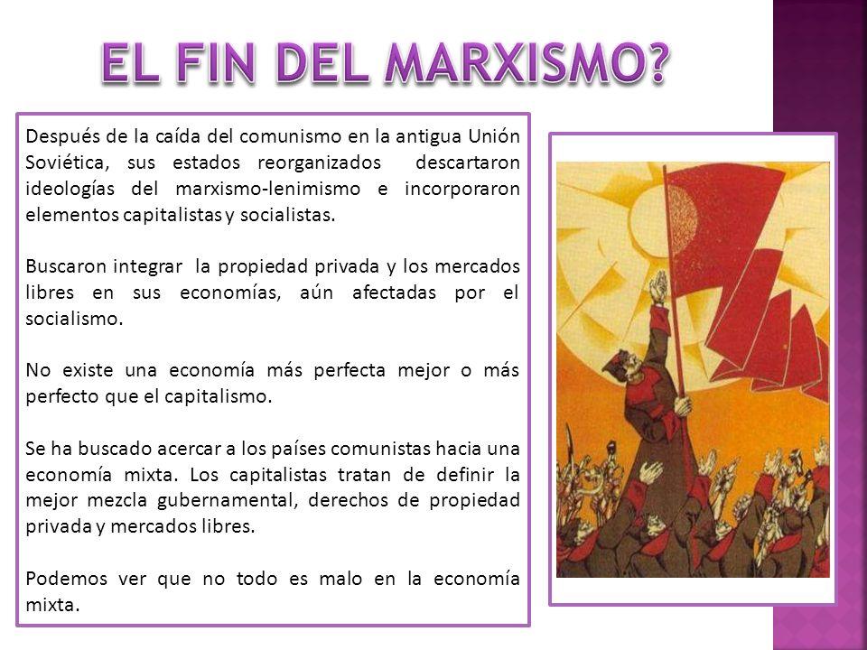 Después de la caída del comunismo en la antigua Unión Soviética, sus estados reorganizados descartaron ideologías del marxismo-lenimismo e incorporaro