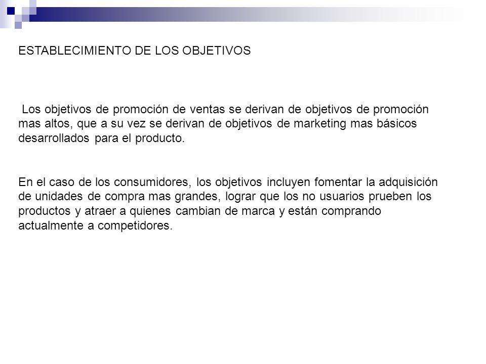 SELECCIÓN DE HERRAMIENTAS DE PROMOCION COMERCIAL Los fabricantes emplean varias herramientas de promoción comercial.