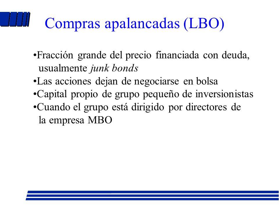 OPA: normas de la CNV (Cont.) l Accionistas que acepten OPA deben notificar a iniciador (Art. 17) l Aceptación puede revocarse si hay oferta competido