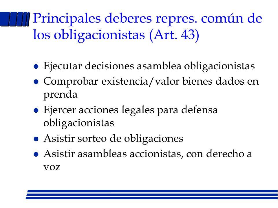 Bonos: regulaciones LMC Art. 33: La asamblea de accionistas podrá delegar a administradores la facultad de emitir una o más veces obligaciones (máximo