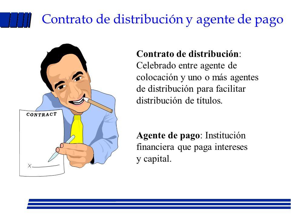Bonos: contrato de emisión y prospecto Ley de Mercado de Capitales Contrato de emisión - Cláusulas restrictivas: Requisito de capital de trabajo, restricción pago dividendos en efectivo y recompra de acciones, limitación en gastos de capital.