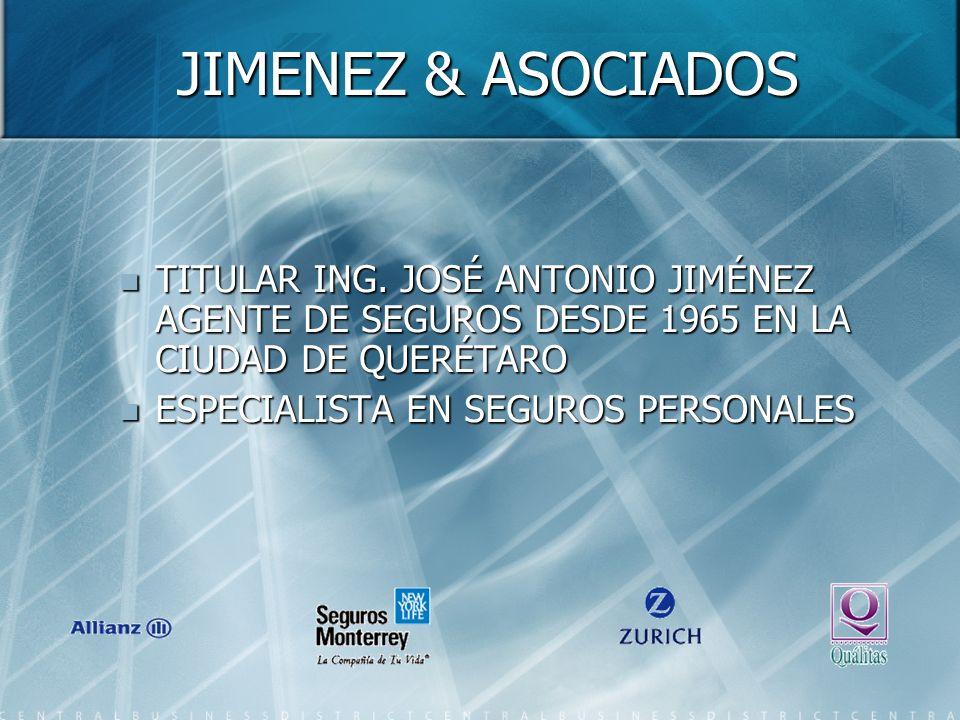 JIMENEZ & ASOCIADOS TITULAR ING.