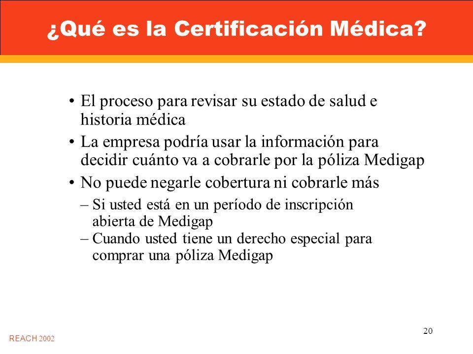 20 ¿Qué es la Certificación Médica.
