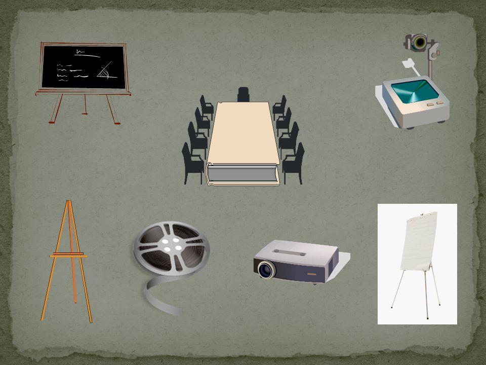 TIPO DE MEDIO DESCRIPCIÓN Expertos Dinámicas y técnicas Nuevas tecnologías Auditivos Audiovisuales Fotográficos Gráficos Pizarrón, acetatos, rotafolio, gráficas, carteles, planos… Fotografías, diapositivas.