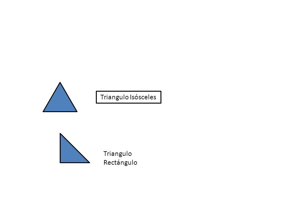 Triangulo Isósceles Triangulo Rectángulo