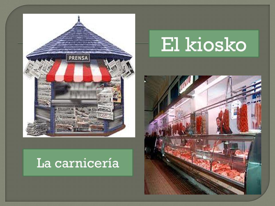 La carnicería El kiosko