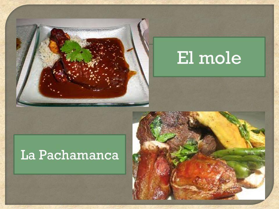 El mole La Pachamanca