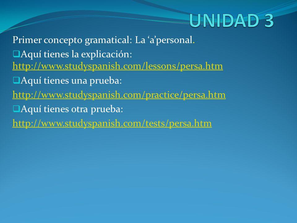 Primer concepto gramatical: La apersonal. Aquí tienes la explicación: http://www.studyspanish.com/lessons/persa.htm http://www.studyspanish.com/lesson