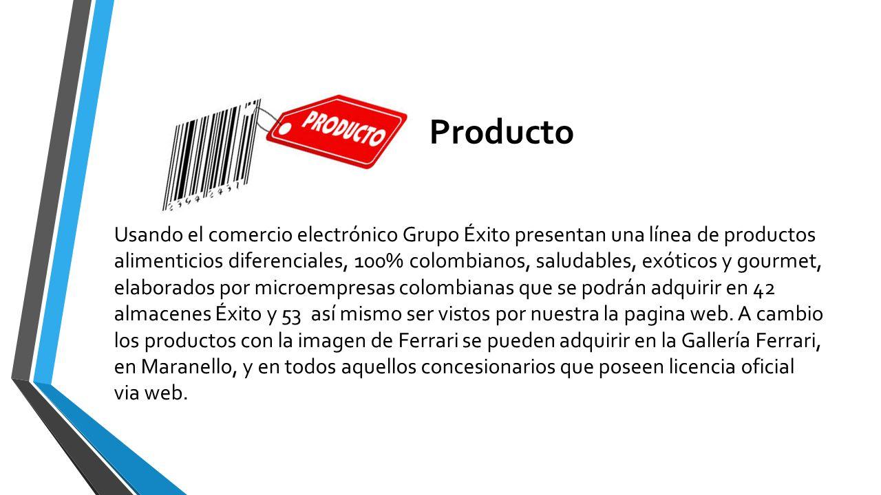 Producto Usando el comercio electrónico Grupo Éxito presentan una línea de productos alimenticios diferenciales, 100% colombianos, saludables, exótico