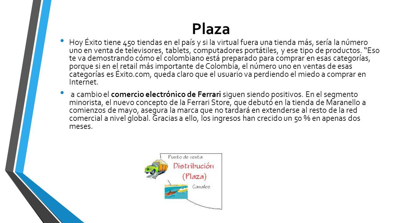 Plaza Hoy Éxito tiene 450 tiendas en el país y si la virtual fuera una tienda más, sería la número uno en venta de televisores, tablets, computadores