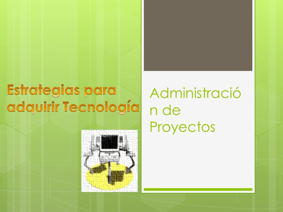 Administració n de Proyectos