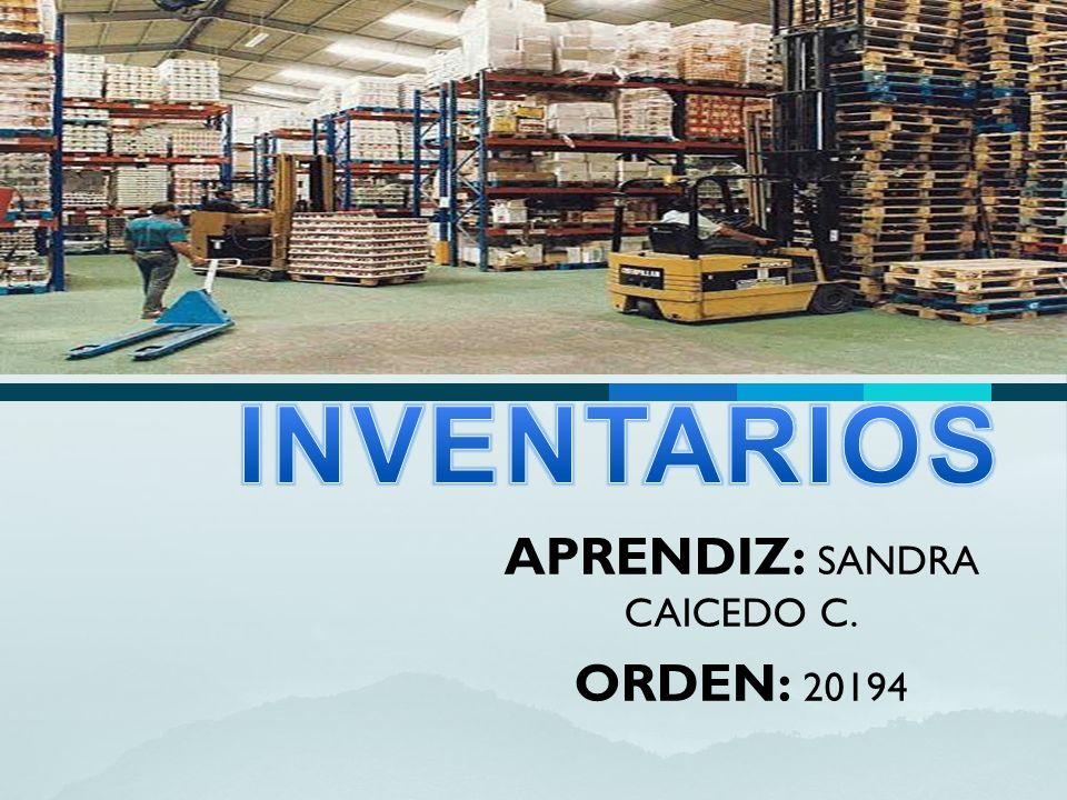 APRENDIZ: SANDRA CAICEDO C. ORDEN: 20194
