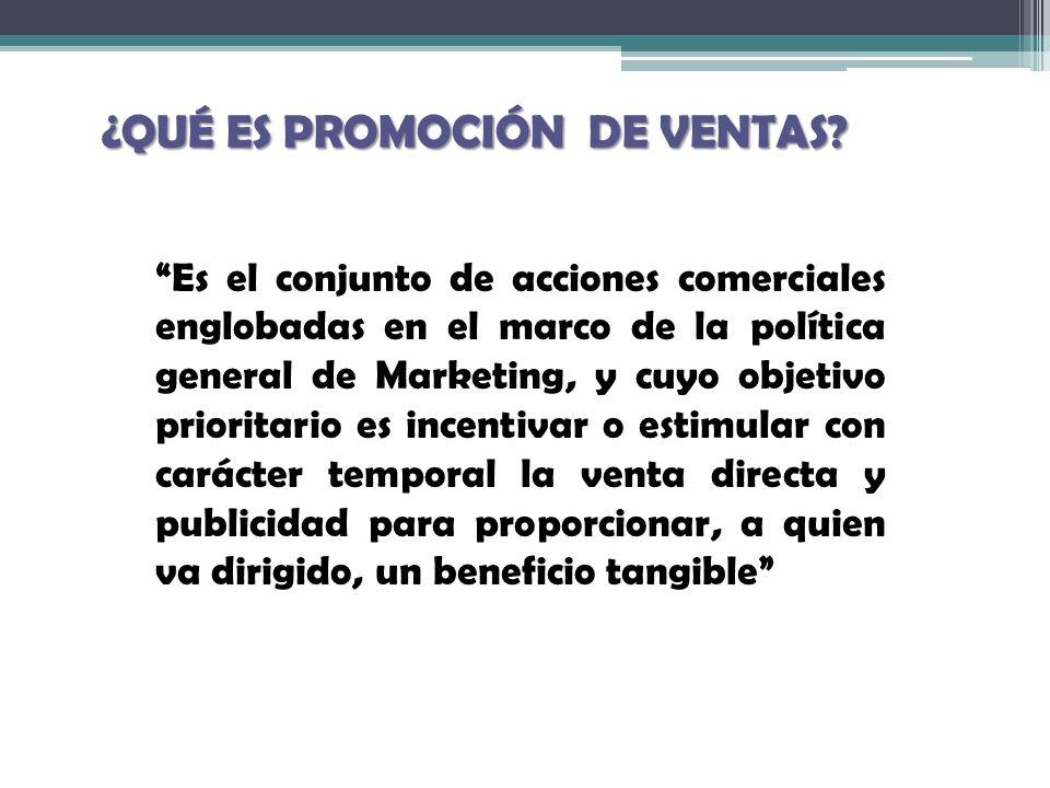 PASOS PARA EL DESARROLLO DE UNA PROMOCIÓN Definición del destinatario Definición del incentivo DuraciónDuración Publicidad de la promoción EvaluaciónEvaluación
