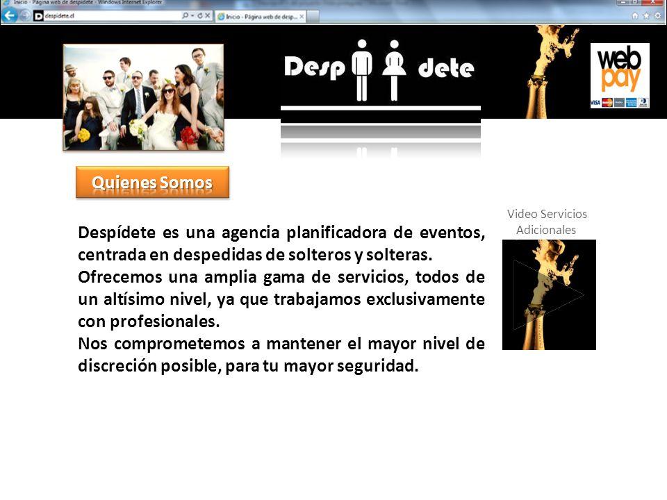 Despídete es una agencia planificadora de eventos, centrada en despedidas de solteros y solteras.