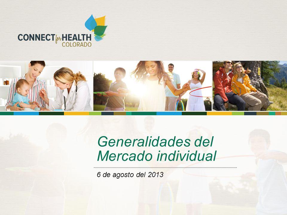 Generalidades del Mercado individual 6 de agosto del 2013