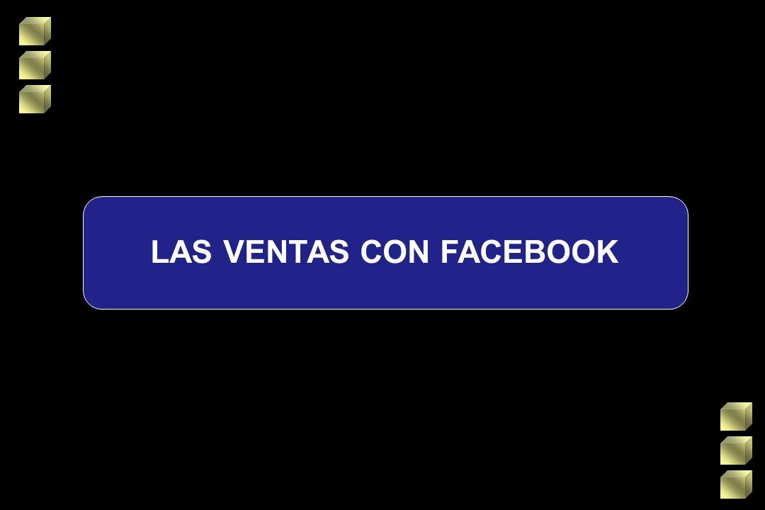 LAS VENTAS CON FACEBOOK