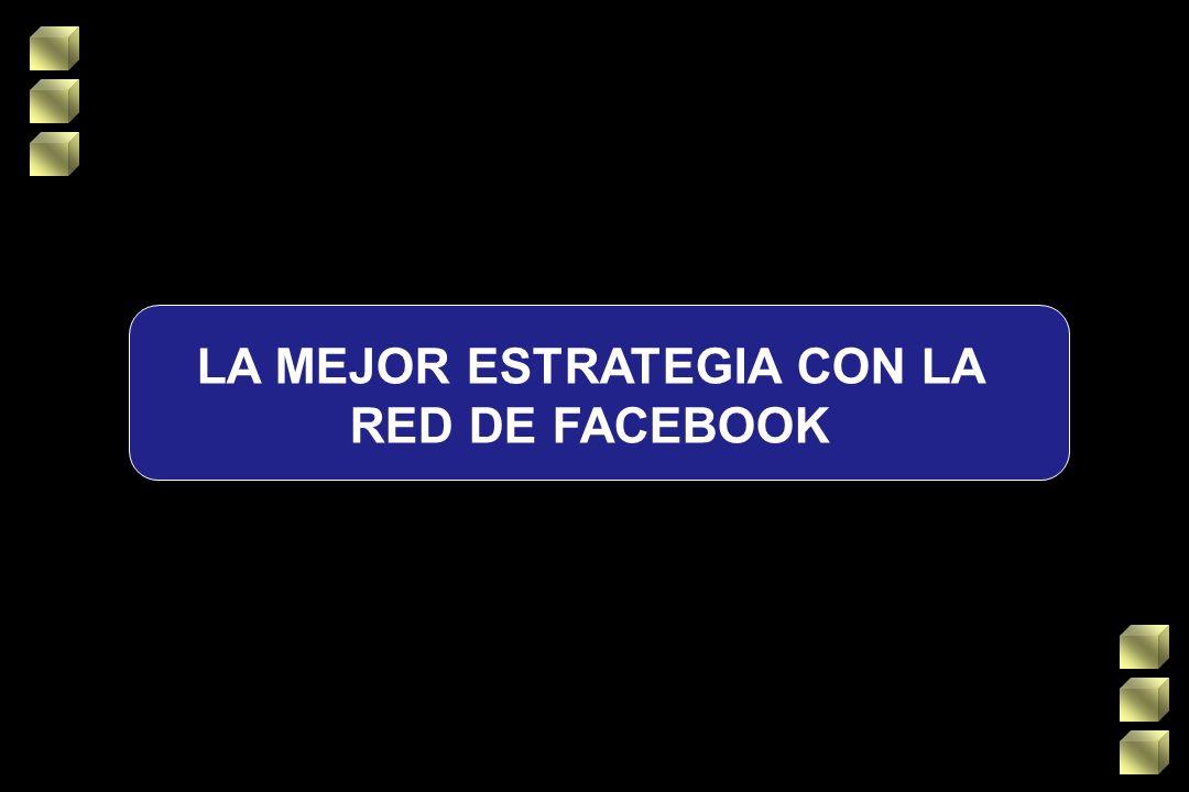 LA MEJOR ESTRATEGIA CON LA RED DE FACEBOOK
