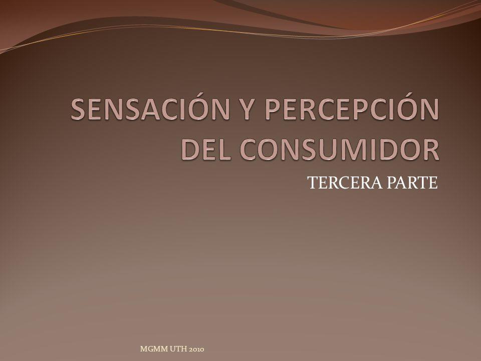 LA DINAMICA DE LA PERCEPCIÓN LA INFORMACION Y SU INTERPRETACION POR EL CONSUMIDOR.