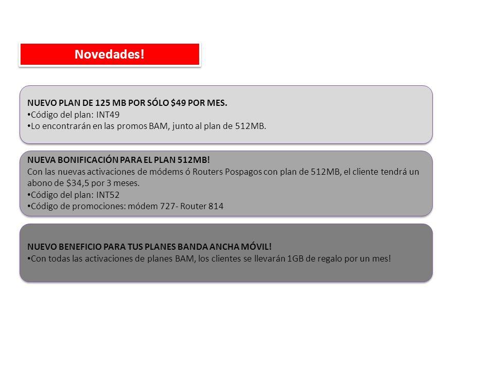 NUEVA BONIFICACIÓN PARA EL PLAN 512MB.