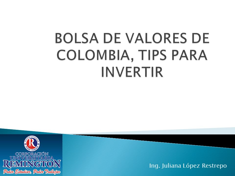 Mercado no intermediario OTC Dividido en: Mercado Privado Mercado publico BVC Comisionistas de bolsa.