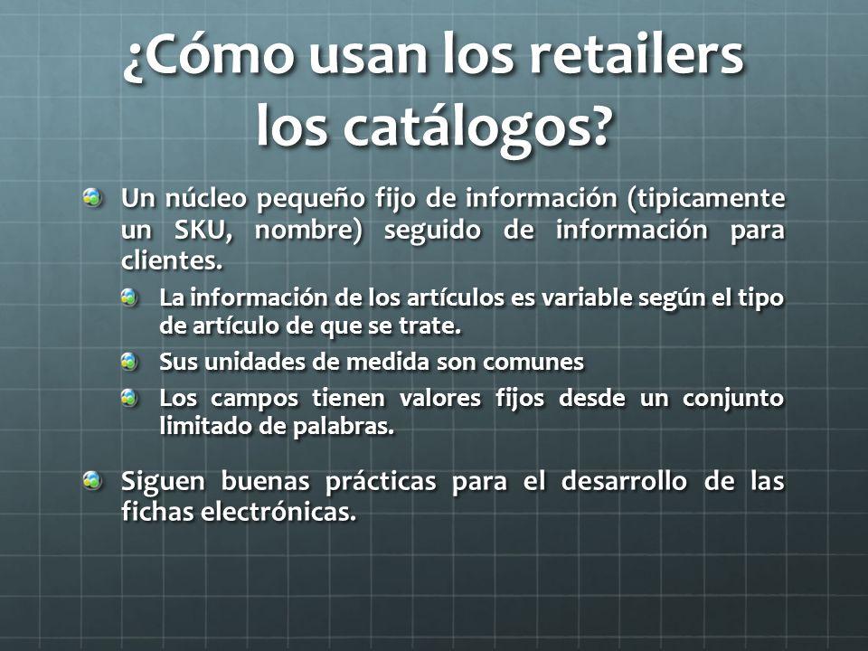¿Cómo usan los retailers los catálogos.
