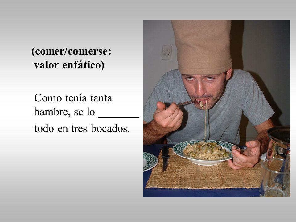 (hervir pasta) (saltear las verduras) Luego, ________ la pasta y ________ las verduras.