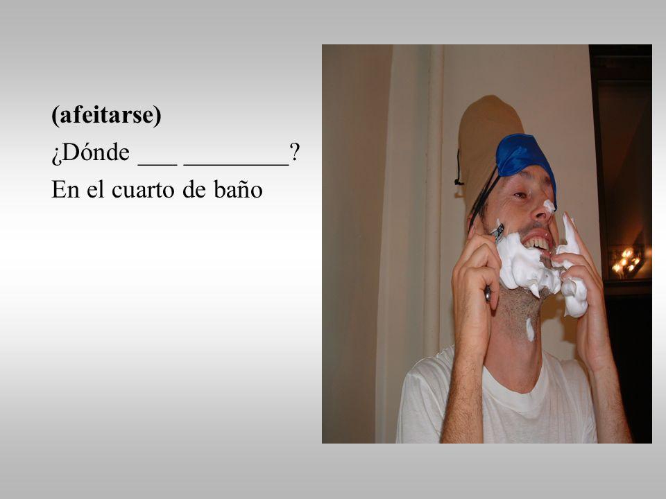 (cepillarse los dientes) ¿Qué hizo Quijo después de levantarse ………….