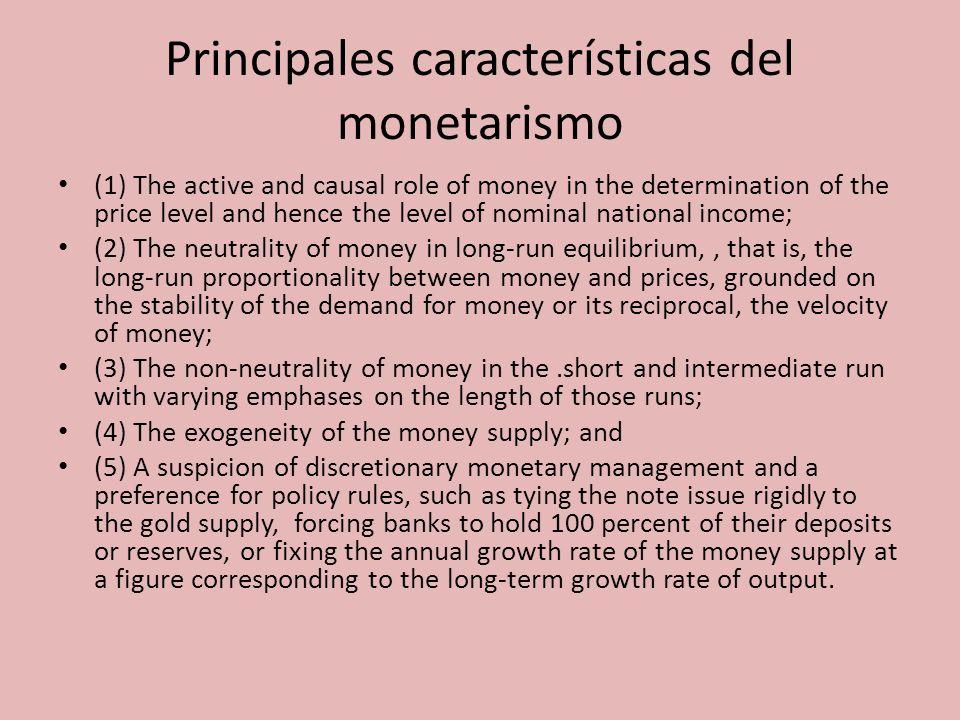 El dinero El dinero es un activo y, por ende, una variable de stock.