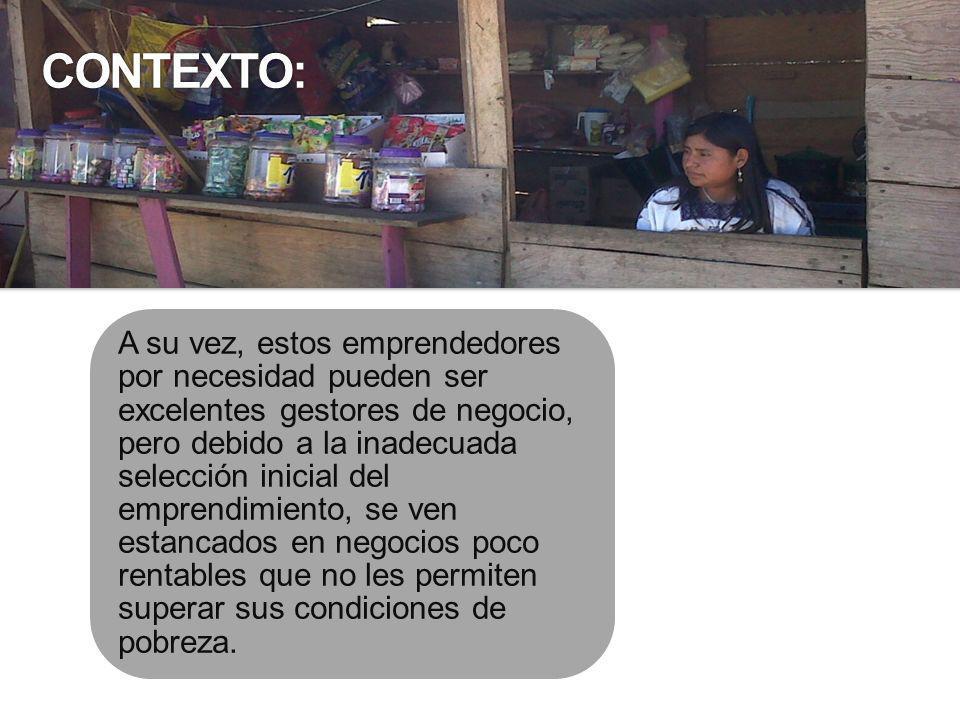Frente a esta problemática, las microfranquicias pretenden ser una alternativa de negocio para los emprendedores por necesidad, y en particular una alternativa al desempleo y subempleo en México, en especial en zonas con niveles de marginación muy alto, alto y medio en áreas rurales y urbanas, donde la problemática del desempleo y subempleo es más acuciante.