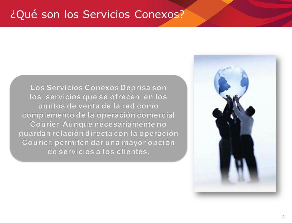 2 ¿Qué son los Servicios Conexos?