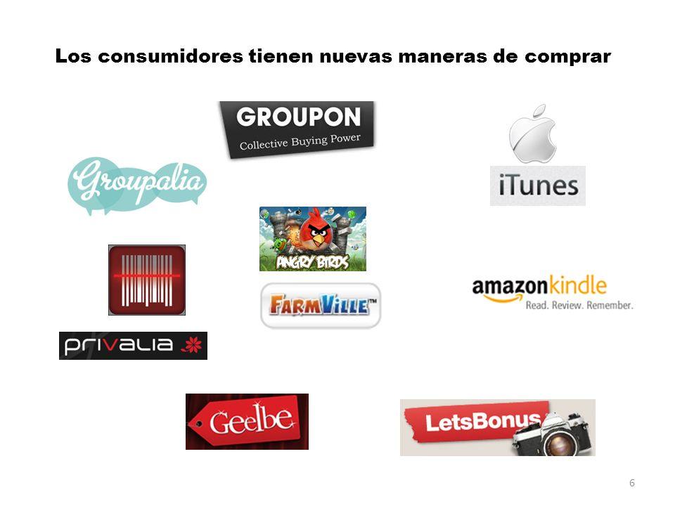 Los consumidores tienen nuevas maneras de comprar 6