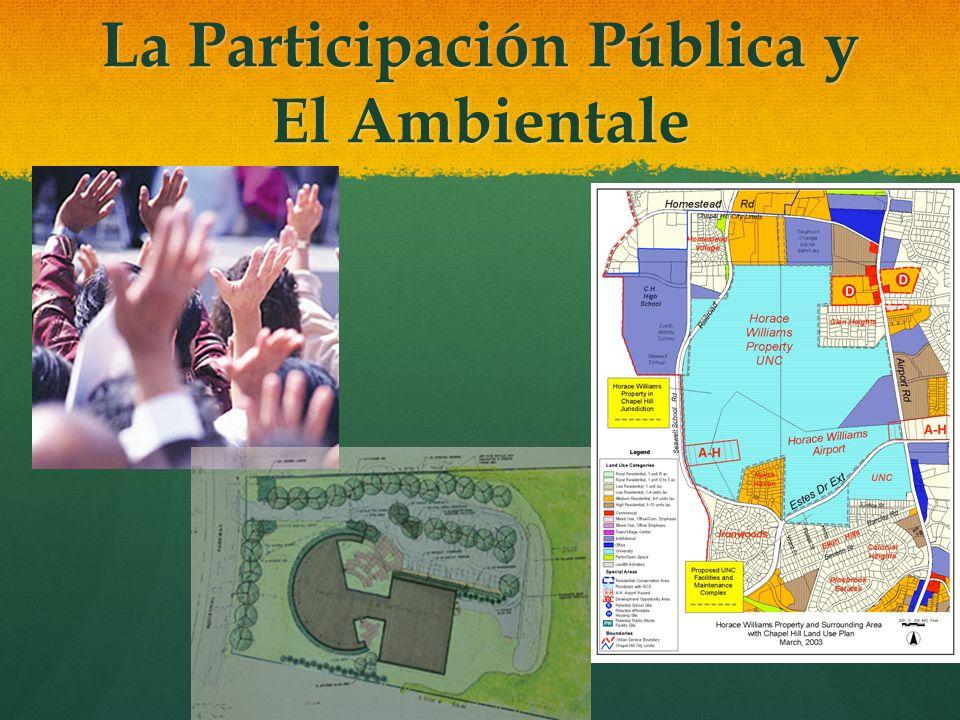 La Participación Pública y El Ambientale ARTÍCULO 12 – De los planes participativos de ordenamiento territorial ARTÍCULO 12 – De los planes participat