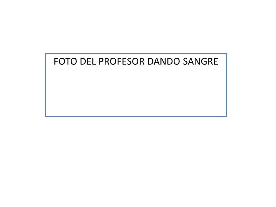 FOTO DEL PROFESOR DANDO SANGRE