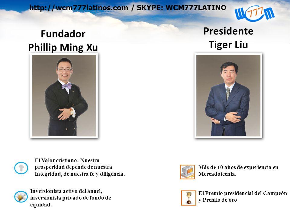 Fundador Phillip Ming Xu El Valor cristiano: Nuestra prosperidad depende de nuestra Integridad, de nuestra fe y diligencia.